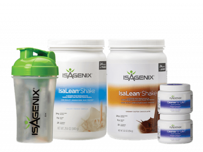 Shake and Cleanse pak