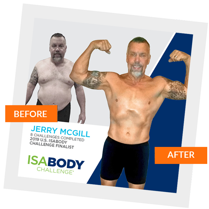 Jerry before after
