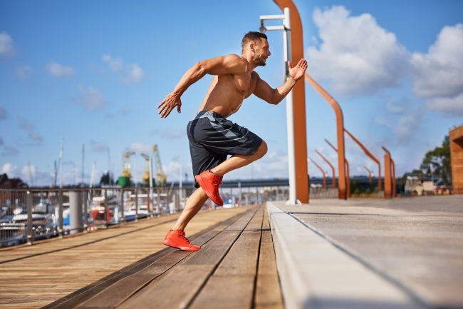 High intensity training will increase metabolism