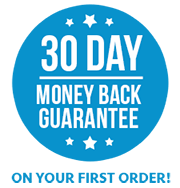 Your first Isagenix order is covered by a money back guarantee
