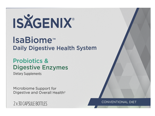 Isagenix IsaBiome Daily Digestive Health System