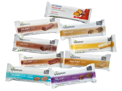 Isagenix have a range of healthy protein bars for the ideal snack-on-the-go