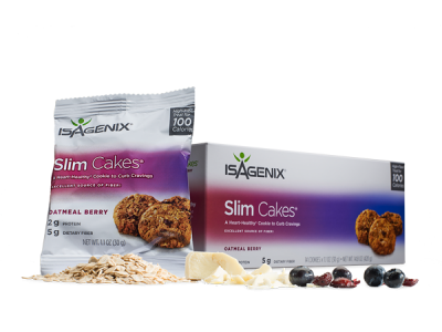 Oatmeal Berry Slim Cakes